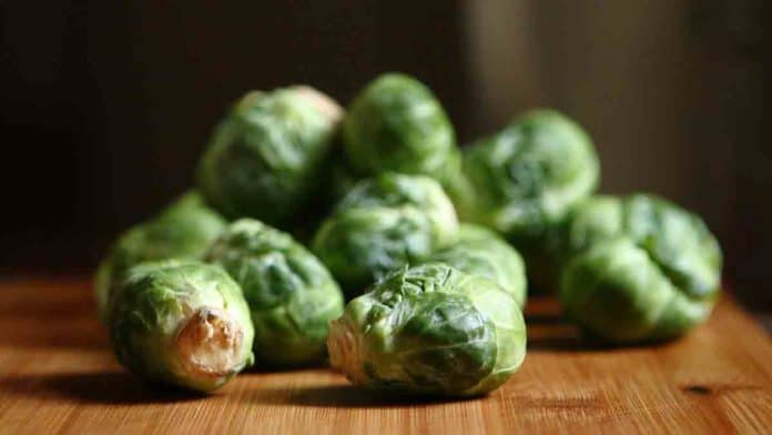 Health benefits of eating Brussel sprouts. Nutrition value.