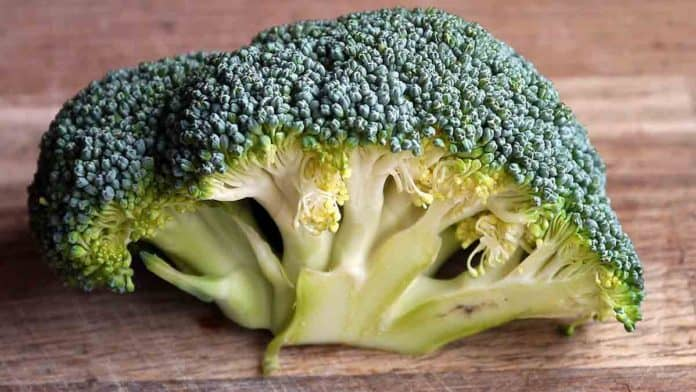 How much vitamin K in Broccoli?