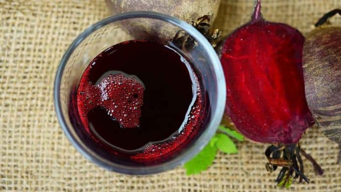How foods high in nitrates, such as pure beetroot juice, before a workout, affects athletic performance?